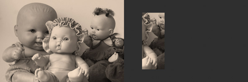 Silvia Giordani. Inanimados, 2012. Objeto fotográfico - detalhe, 20 x 21 x 2 cm.