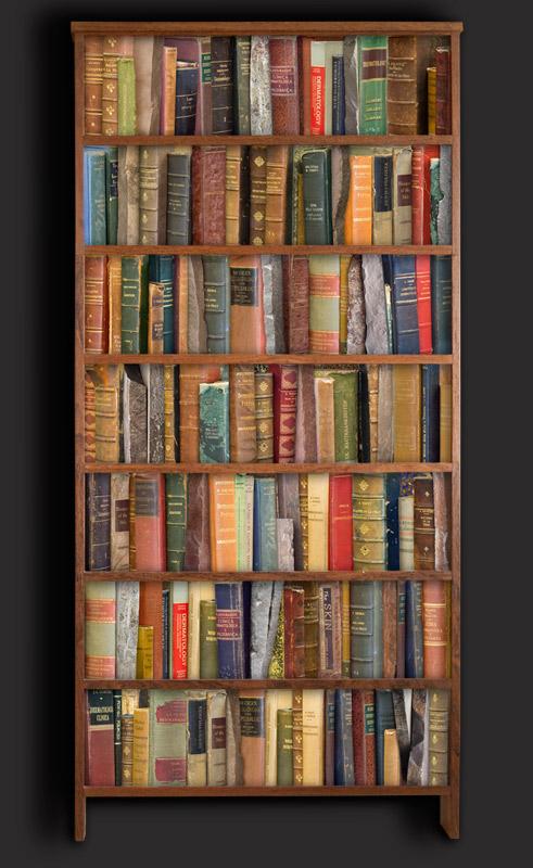 Pele e Pedra 3, 2010. Fotografia e madeira, 190 x 94 x 16 cm. Coleção MACRS.