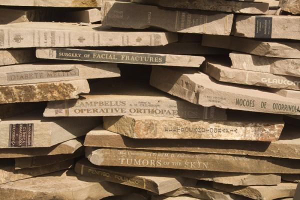 Corpo e Pedra 3, 2012. Pigmento mineral sobre papel Somerset Velvet, 40 x 60 cm. Edição: 3.
