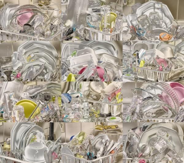 Silvia Giordani. Natureza Morta 1 (Políptico), 2012. Fotografia, 146 x 165 cm. Coleção Galeria Nilton Zanotti, SECULT, Praia Grande, SP.
